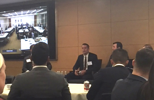 Morgan Stanley Hosts Recruiting Event in Baltimore and New York City