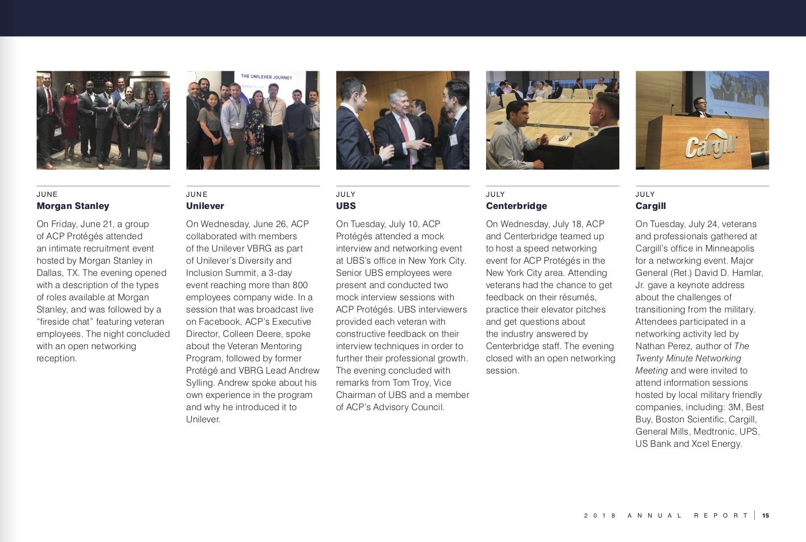 Annual Report | American Corporate Partners